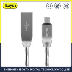 Cavo di carico del micro di dati su ordinazione del USB per il telefono mobile