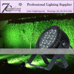 14X12W LED de exterior Faros de color RGBW PAR