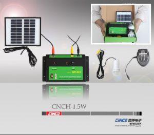 mini caricatore solare del sistema di illuminazione 1.5w LED Light+Mobile (CNCH-1.5W)