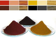 Het transparante Pigment van het Oxyde van het Ijzer