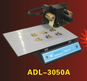 PVC Cards (ADL-3050A)를 위한 디지털 Heat Foil Press Printer 3050A
