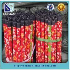 Il PVC di prezzi bassi ha ricoperto i manici per scope di buona qualità dalla fabbricazione della fabbrica