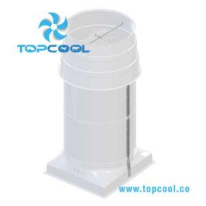 Ventilateur de cheminée 72  pour le bétail ou application industrielle