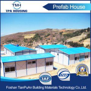 Estrutura de Aço Construção Prefab House Building do trabalho