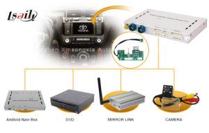 Sistema de Navegação GPS multimídia Caixa de interface de vídeo para RAV4 / Prado