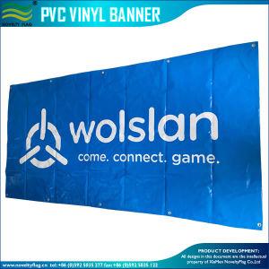 印刷屋外PVC屈曲のビニールの旗を広告する速い配達習慣