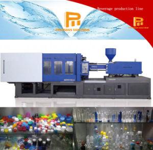 2017新しい二重Verticalpoleおよび単一の水平の注入のブロー形成機械