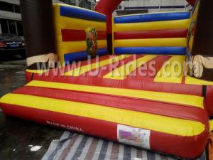 Mono comercial gorila inflable castillo hinchable castillo inflable para la venta