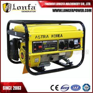 2500W 2.5kw 2.5kVA Astra 한국 휴대용 힘 가솔린 휘발유 발전기
