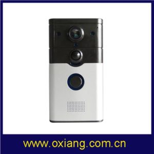Intelligenter Hauptvideotürklingel-Monitor des radioapparat-720p WiFi das Video durch Smartphone Anywhere
