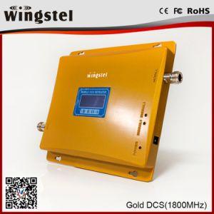 Goldsignal-Verstärker-einzelner Signal-Verstärker für Hauptverstärker des Signal-1800MHz vom Gewicht