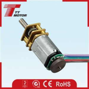 Micro codificador orientada 12V DC motor para cerraduras eléctricas