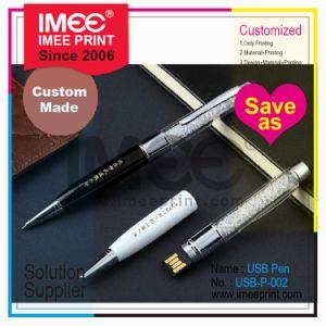 De Douane China van de Druk van Imee 1g 2GB 4GB 8GB 16GB 32GB 64G 128g de Schijf van de Pen van de Aandrijving van 3.0 Flits van USB 2.0