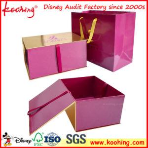 Papel de impresión de logotipo personalizado Koohing Caja de regalo y bolsa