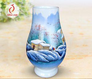 Novo Design Big Eco-Friendly Jingdezhen vaso de porcelana