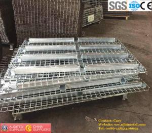 Warehouse Storage Racking를 위한 주문을 받아서 만들어진 Galvanized Wire Mesh Decking