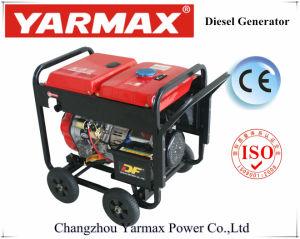 Generatore diesel silenzioso della saldatura del baldacchino portatile di Yarmax 3.5kVA4.5kVA 5.5kVA