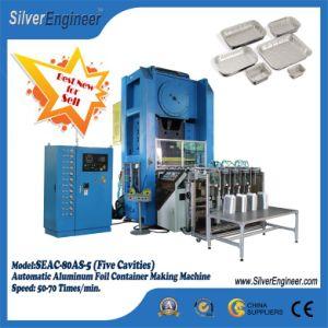 Recipiente de Alumínio Automática Real da Linha de Produção