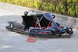 Vente chaude 200cc/270cc 4 Roues 2 sièges Racing Go Kart Indoor avec bouclier de sécurité en plastique Gc2005 Pass certificat CE