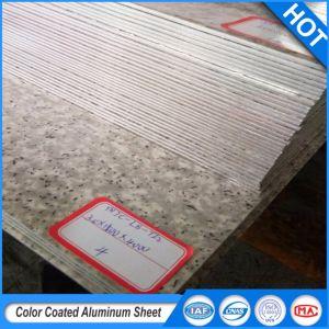 PE/PVDF Feuille en aluminium à revêtement de peinture pour le logement des projets structurels