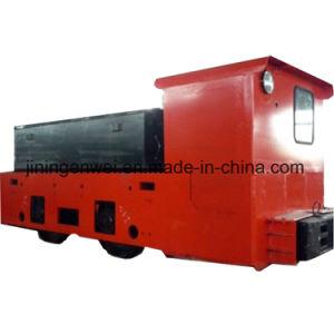 12 Tonnen-explosionssichere Tiefbaugruben-elektrische Batterie-Laufkatze-Lokomotive für Kohlengrube