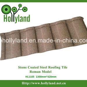 De steen Met een laag bedekte Tegel van het Metaal voor het Gebruik van het Dakwerk (Roman type)