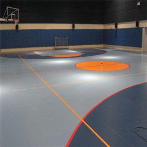 De VinylVloer van de Mat van de Vloer van het Pingpong van de Bevloering van de Sport van het Badminton van pvc