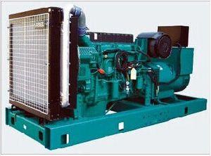 Безщеточный альтернатор 100kw Volvo приводит молчком тепловозный комплект в действие генератора