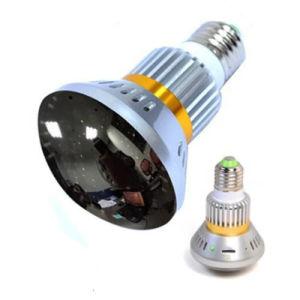 Wireless cámara DVR Bombilla de luz de infrarrojos invisible de la cámara de seguridad