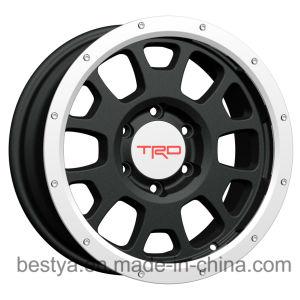 Trd, Vossen por grosso de automóveis de passageiros de réplica SUV Beadloack 4X4 roda em liga de alumínio, Reboque de autocarro ATV para Rodas de Aço, Jeep Toyota, BMW, Nissan