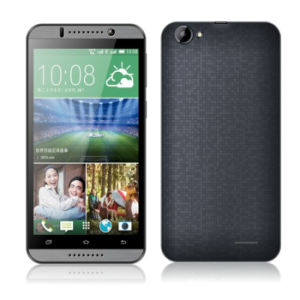 A MTK6582 quad core Chip Celular 5.5Inch IPS tela 3G Smart Phones