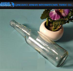 vaso di vetro della bevanda di Sylinder della guarnizione 375ml per l'aceto della frutta