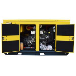 Шесть цилиндров дизельного генератора с 85Ква Основная мощность Silent типа