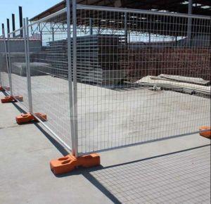 Estándar de Australia soldado de la construcción de malla de alambre galvanizado cercas temporales