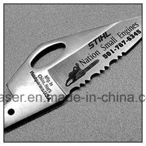 Macchina inclusa portatile della marcatura del laser della fibra del metallo della casa sicura