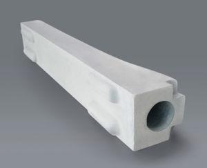 Nsic (si3n4 verbundener sic) Silicon Nitride Bonded Silicon Carbide Protection Tube/Protective Tube
