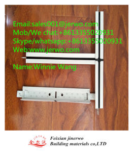 Ranurados galvanizado suspendida la barra de T T Jinerwo rejillas de metal