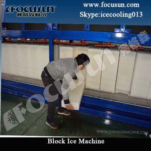 Blocs de glace industrielle de la machine pour l'Afrique nigérian