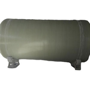 Depósito do filtro de carbono para tratamento de água