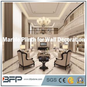 Tv Muur Decoratie.Marmeren Stenen Rand Begrenzende Grens Voor De Decoratie Van De Muur