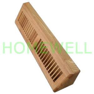 Diffuseur de plinthes en bois de 15 18 24