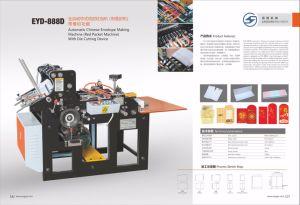 Eyd-888d Envelope Chinês automática fazendo Machine (Máquina de pacote vermelho) com dispositivo de corte morrem