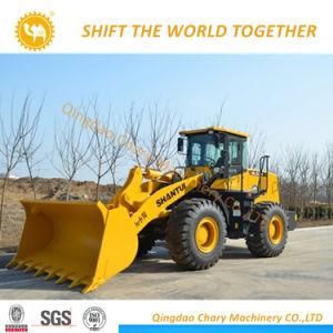De sterke Lader van het Wiel van Shantui SL53h van de Apparatuur van de Bouw van de Macht