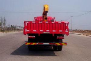 HOWO eingehangener Ladung-LKW des Kran-6.3t