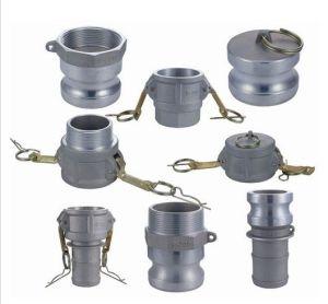 Accoppiamento di tubo flessibile di alluminio della versione rapida della scanalatura del Camlock dell'ottone pp dell'acciaio inossidabile