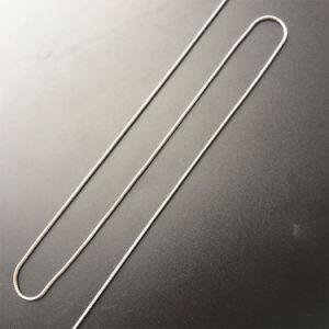 Ketting van de Halsband van de Slang van de Tegenhanger van de Juwelen van de Halsband van het Messing van de manier de Zilver Geplateerde