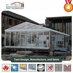 20mの幅の結婚披露宴のための明確な上が付いている贅沢な結婚式のテント