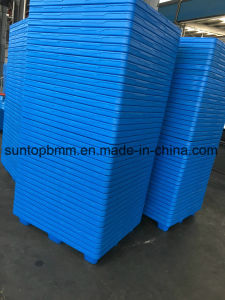 Оптовый склад/промышленности для тяжелого режима работы Большой пластмассовый поддон стеллаж