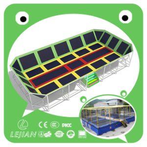 Trampolim de cama de alta qualidade popular para o parque interior (TP1204-12)