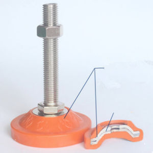 Регулируемый ПВХ /резиновые ножки для потоковой обработки Таблица регистрации шкафа электроавтоматики оборудования